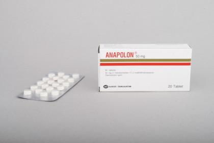 Anapolon 50mg (100 com)