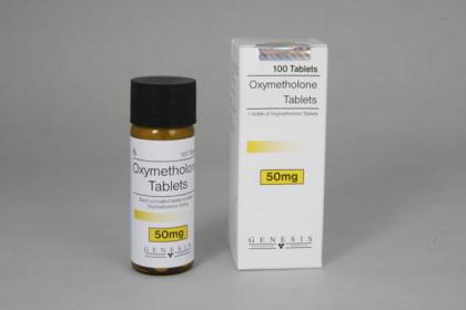 Oxymetholone comprimidos 50mg (100 com)